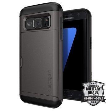 Samsung Galaxy S7 Spigen Slim Armor CS Kotelo Asemetalli