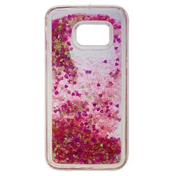 Samsung Galaxy S7 Urban Iphoria Glamour Case Gold / Pink