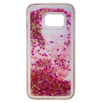 Samsung Galaxy S7 Urban Iphoria Glamour Case Gold / Pink