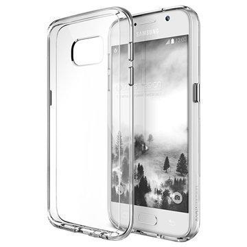 Samsung Galaxy S7 VRS Design Crystal Mixx -Sarjan Kotelo Kirkas