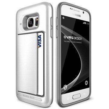 Samsung Galaxy S7 VRS Design Damda Clip Series Case Pearl White