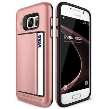 Samsung Galaxy S7 VRS Design Damda Clip Series Case Rose Gold