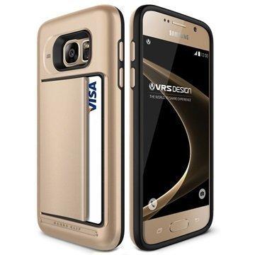 Samsung Galaxy S7 VRS Design Damda Clip Series Case Shine Gold