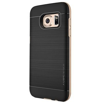Samsung Galaxy S7 VRS Design High Pro Shield Kotelo Hohtava Kulta