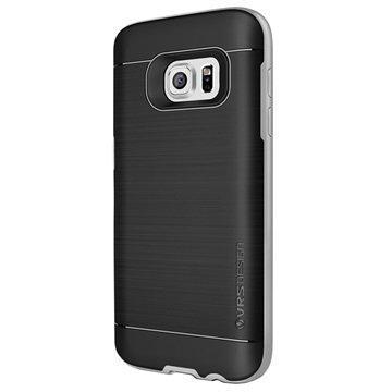 Samsung Galaxy S7 VRS Design High Pro Shield Kotelo Vaalea Hopea
