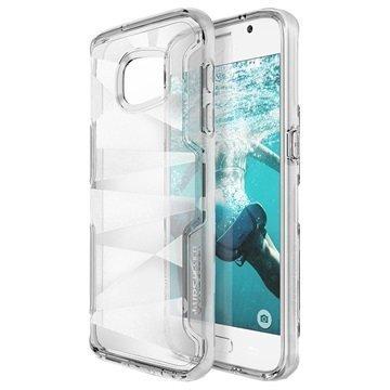 Samsung Galaxy S7 VRS Design Shine Guard -Sarjan Hybridikotelo Kirkas