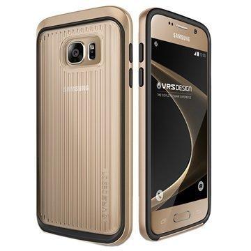 Samsung Galaxy S7 VRS Design Triple Mixx Series Case Shine Gold