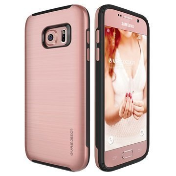 Samsung Galaxy S7 VRS Design Verge -Sarjan Kotelo Ruusukulta