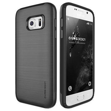 Samsung Galaxy S7 VRS Design Verge -Sarjan Kotelo Teräksenhopea