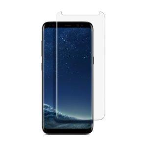 Samsung Galaxy S8+ Koteloihin Sopiva Panssarilasi 3d Full Cover Läpinäkyvä