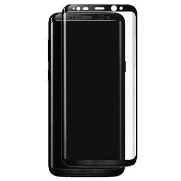 Samsung Galaxy S8 Panzer Full-Fit Lasinen Näytönsuoja Musta