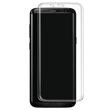 Samsung Galaxy S8 Plus Panzer Full-Fit Lasinen Näytönsuoja Läpinäkyvä