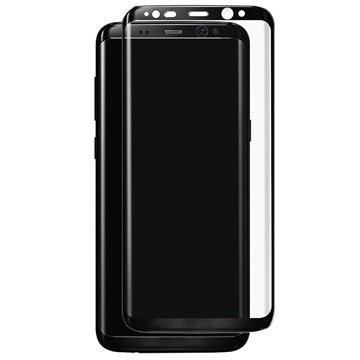 Samsung Galaxy S8 Plus Panzer Full-Fit Lasinen Näytönsuoja Musta