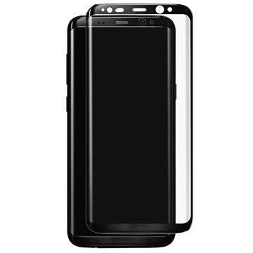 Samsung Galaxy S8 Plus Panzer Full-Fit Lasinen Näytönsuoja Musta
