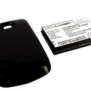 Samsung Galaxy Stellar tehoakku erillisellä laajennetulla mustalla takakannella 4200 mAh