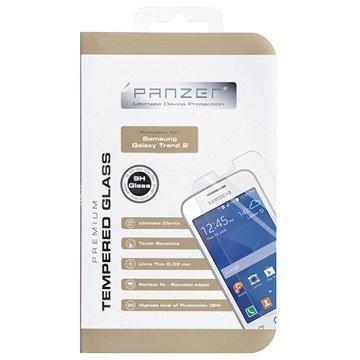 Samsung Galaxy Trend 2 Duos S7572 Panzer Suojaava Karkaistun Lasin Näytönsuojakalvo