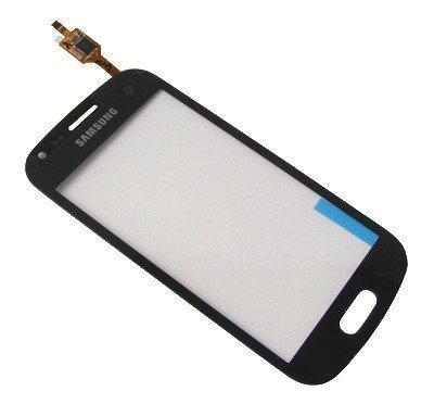 Samsung Galaxy Trend S7560 GT-S7560 Digitizer kosketuspaneeli Musta