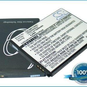 Samsung Galaxy W GT-I8150 Galaxy Xcover GT-S5690 Wave 3 GT-S8600 yhteensopiva akku 1200 mAh