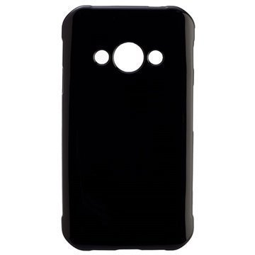 Samsung Galaxy Xcover 3 Peter Jackel Protector Solid Kuori Musta
