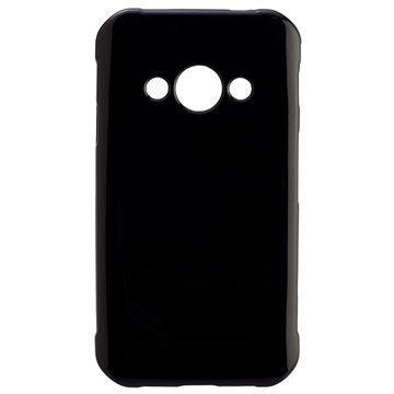 Samsung Galaxy Xcover 3 Peter Jackel Protector Solid Kuori Musta