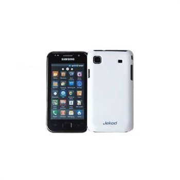 Samsung I9000 Galaxy S Jekod Super Cool Case White