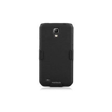 Samsung I9295 Galaxy S4 Active Naztech DoubleUp Suojakotelo Musta