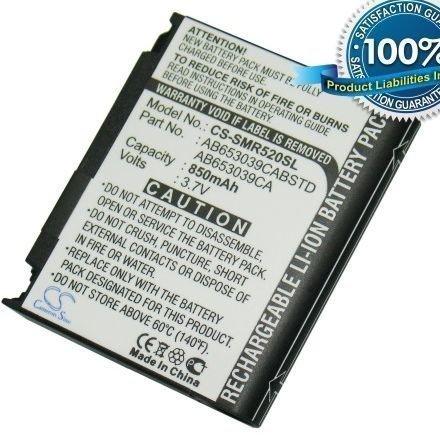 Samsung Magnet A257 SGH-A177 SGH-A777 SGH-T636 SGH-T639 SGH-T659 Trill R520 akku 850 mAh
