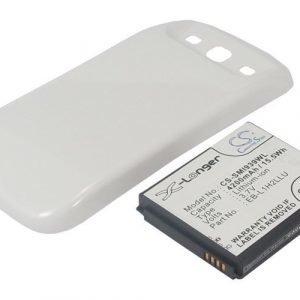 Samsung Midas tehoakku erillisellä laajennetulla valkoisella takakannella 4200 mAh