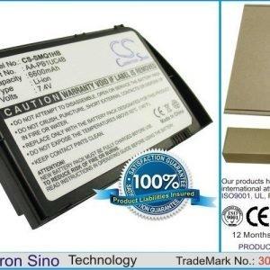 Samsung NP-Q1U NP-Q1 Ultra NP-Q1U NP-Q1U NP-Q1U-000 NP-Q1U-A000 NP-Q1U-CMXP NP-Q1U-EL NP-Q1U-ELXP NP-Q1U-SSDXP NP-Q1U-V NP-Q1U-XP NP-Q1U-Y02 NP-Q1U-Y04 akku 6600 mAh