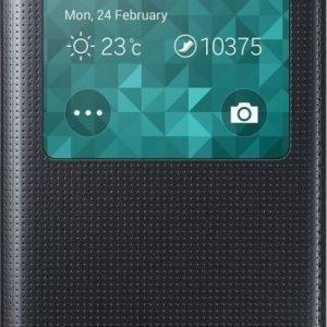 Samsung S-View Cover Galaxy Alpha Black