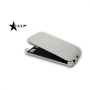 Samsung S8600 Wave 3 StarCase Roma Flip Leather Case White