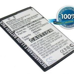 Samsung SCH-U960 SCH-U450 Intensity U450 Rogue U960 DoubleTake Intensity SCH-U450 Rogue SCH-U960 akku 850 mAh