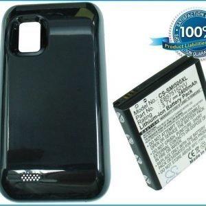 Samsung SCH-i500 Verizon Fascinate yhteensopiva akku laajennetulla takakannella 2400 mAh
