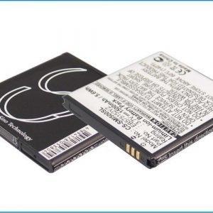 Samsung SCH-i500 Verizon SCH-I500 Fascinate Fascinate i500 Mesmerize i500 Showcase i500 yhteensopiva akku 1500 mAh