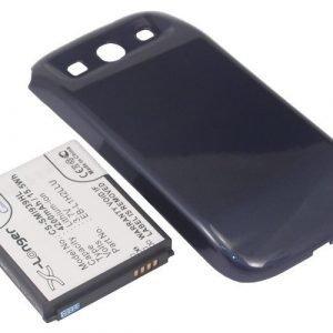 Samsung SCH-i939 Midas SC-06D yhteensopiva tehoakku laajennetulla takakannella 4200 mAh