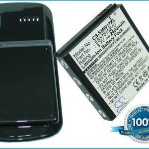 Samsung SGH-i917 Focus Cetus SGH-i917 Focus yhteensopiva akku laajennetulla takakannella 2400 mAh