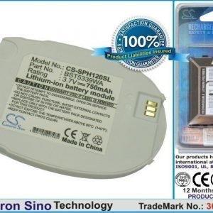 Samsung SPH-A110 SPH-A120 akku 750 mAh