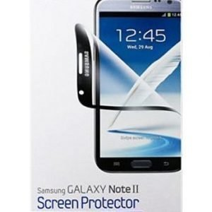 Samsung Screen Protector for Galaxy Note II Black Frame