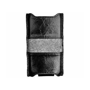 Samsung i9100 Galaxy S2 FItCase Leather Case Black / Grey