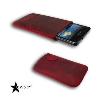 Samsung i9100 Galaxy S2 StarCase Vellutato Leather Case Red