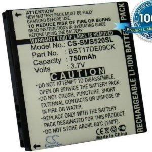 SamsungGT-S5200 S5200 akku 750 mAh