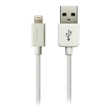Sandberg Lightning / USB Kaapeli Valkoinen 1m
