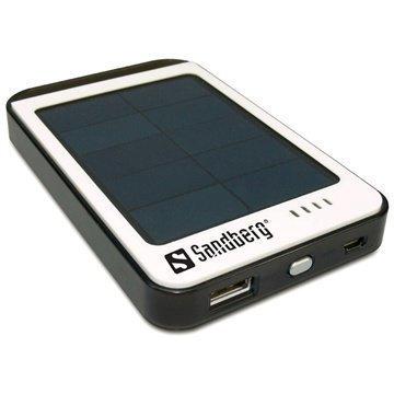 Sandberg Solar PowerBank Virtapankki Ja Aurinkolaturi