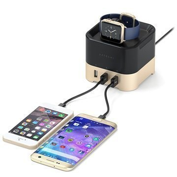Satechi Smart Charging Stand Black / Gold