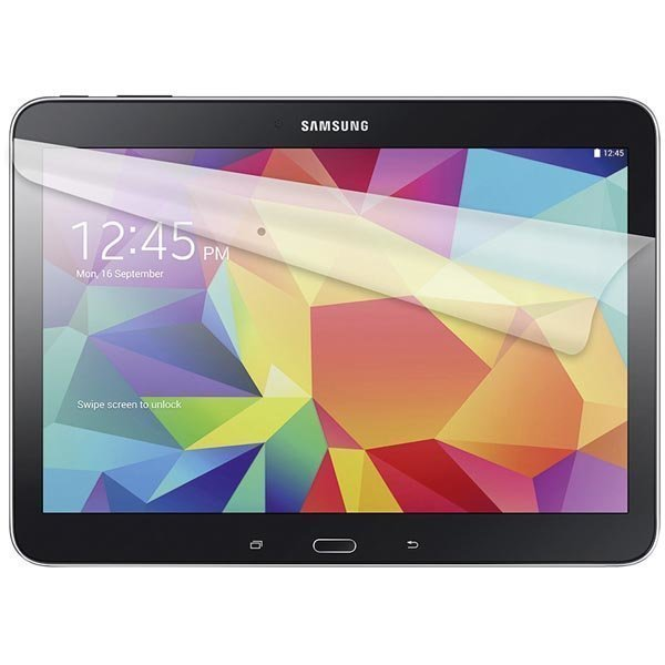 Screen protector foil suojakalvo Galaxy Tab 4 10.1 2-p läpinäk