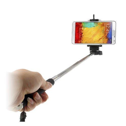 Selfie Musta Teleskooppikahva Älypuhelimille