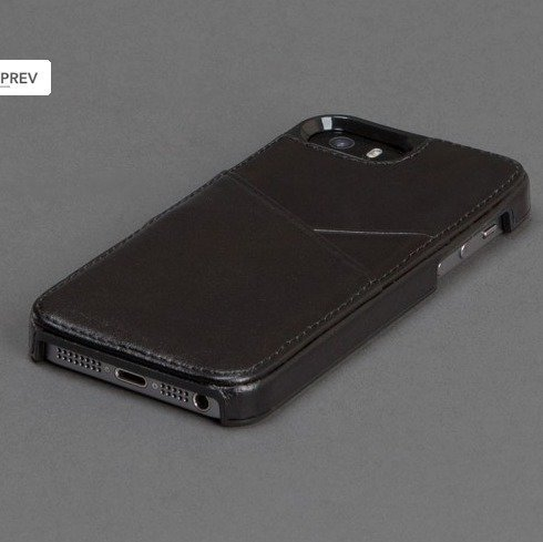 Sena Lugano suojakuori iPhone 6 Musta