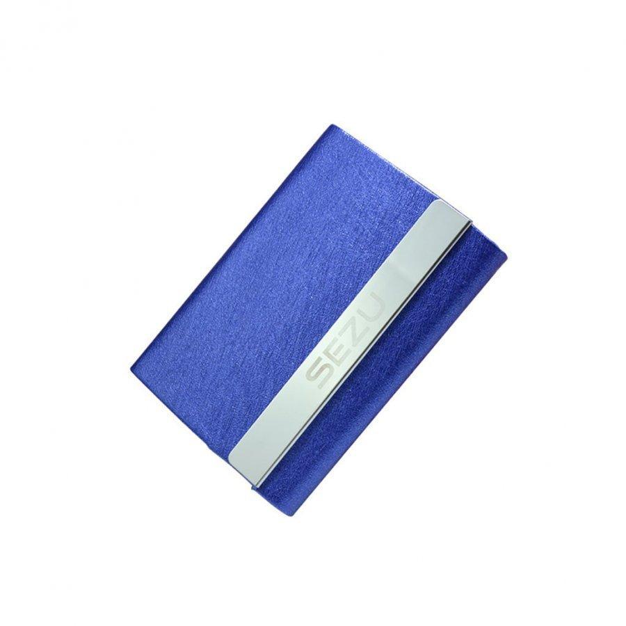 Sezu 1500mah Kaksipuolinen Varavirtalähde Korttitaskuilla Silkki Pintainen / Sininen