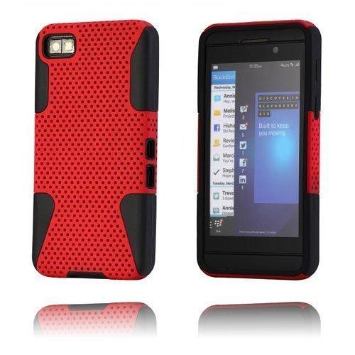 Shooter Punainen Blackberry Z10 Suojakuori