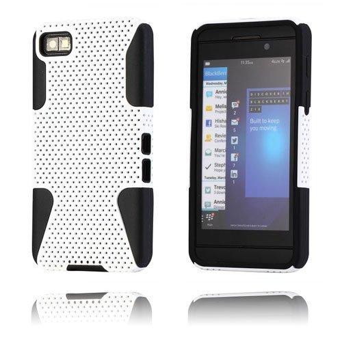 Shooter Valkoinen Blackberry Z10 Suojakuori